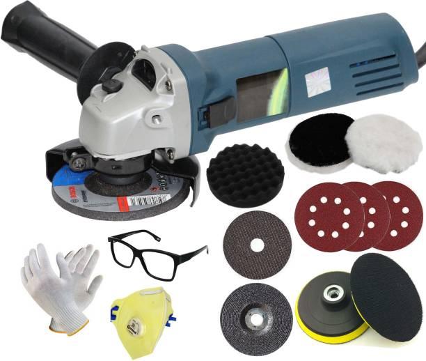 Digital Craft Hi-Max Handheld Electric Angle Grinder High Speed Grinding Machine for Metal Wood Polishing Cutting Tool Angle Grinder