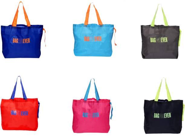 38b2f3c5b Bagforever Multi Utility Shopping Bag(Pack of 6) Waterproof Multipurpose Bag