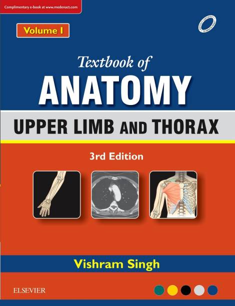 Medical books buy medical books online at best prices in india textbook of anatomy upper limb and thorax volume 1 fandeluxe Images