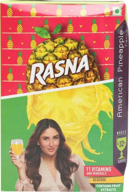 Rasna American Pineapple (32 Glasses)