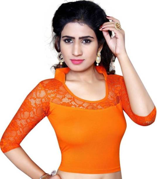 a687a100c5147f Orange Blouses - Buy Orange Blouses Online at Best Prices In India ...