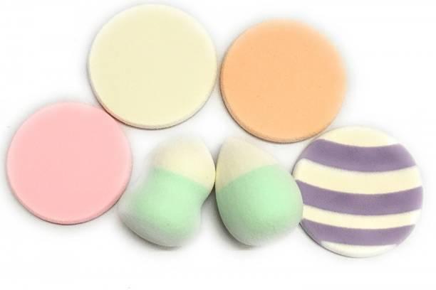 Dios Sponge Makeup Puff Set of 6