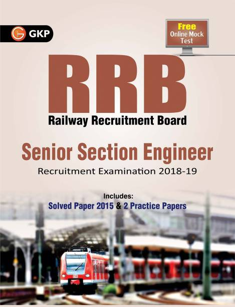 RRB Senior Section Engineer Recruitment Examination 2018-2019 with 0 Disc