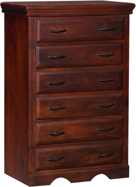 Balaji Wooden Solid Wood Free Standing Chest of Drawers