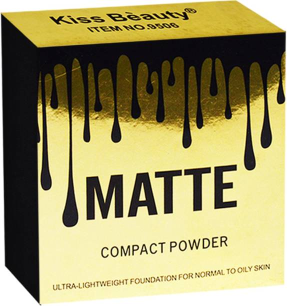 Kiss Beauty Matte Compact Powder 9505-01 Compact