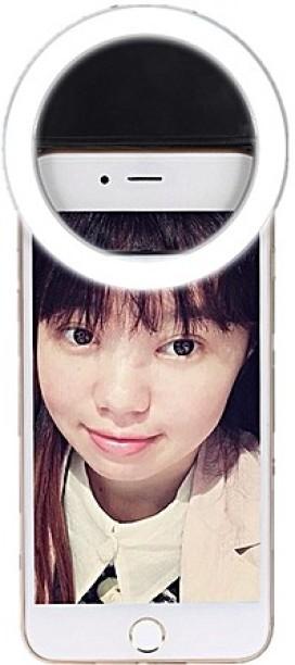 Buy Genuine Luxury Selfie Luminous LED Light Up Phone Ring For Mobile Smart  Phone (Multi