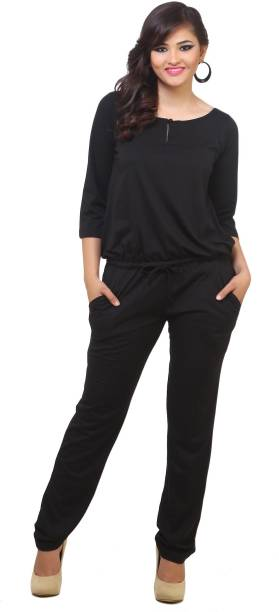 f723c1a3ead7 Black Jumpsuits - Buy Black Jumpsuits Online at Best Prices In India ...