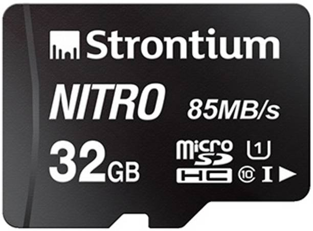 Strontium Nitro 32 GB SDHC Class 10 85 Mbps  Memory Card