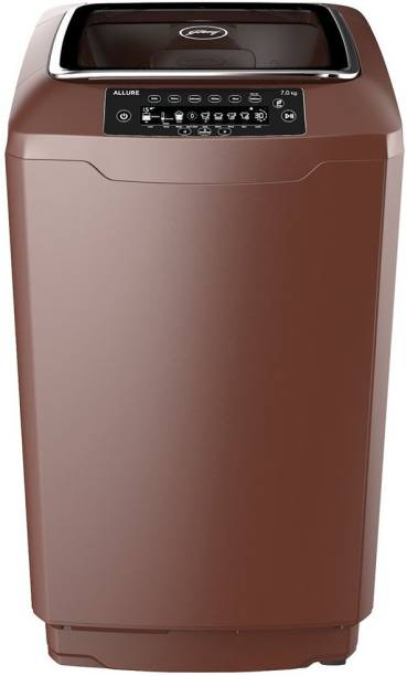 Godrej 7 kg Fully Automatic Top Load Brown