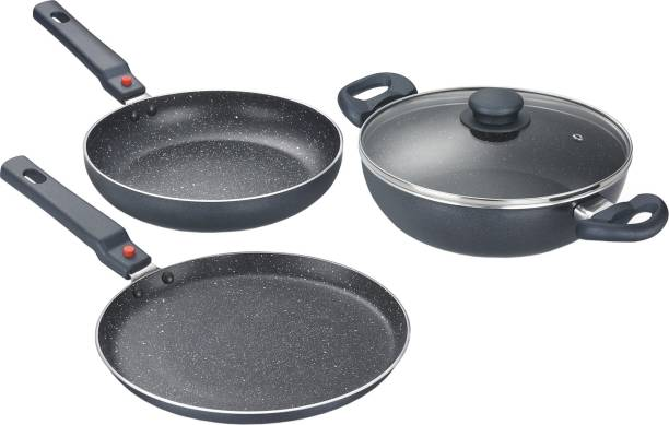 8f5a75eab65 Prestige Omega Festival Pack Induction Bottom Cookware Set