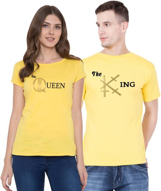 7e1d7ba86fa Couple T Shirts - Buy Couple T Shirts online at Best Prices in India ...