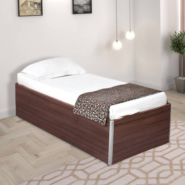 SPACEWOOD Engineered Wood Single Box Bed