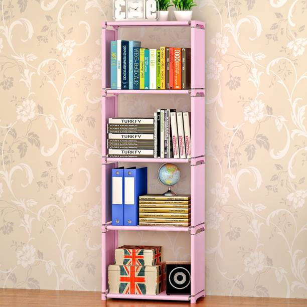 Furncentral Metal Open Book Shelf