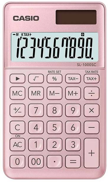 CASIO SL-1000SC-PK Basic  Calculator