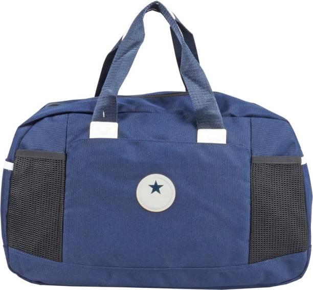 d5506fd1f5 Blue Sky (Expandable) Sports Gym 43cm Travel Side Hand Blue Luggage Duffel  Bag Travel
