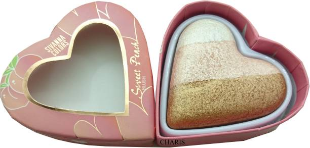 Sivanna Sweet peach multicoloured highlighter-8120-01 Highlighter