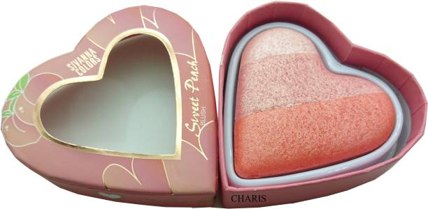 Sivanna Sweet peach multicoloured highlighter-8120-03 Highlighter
