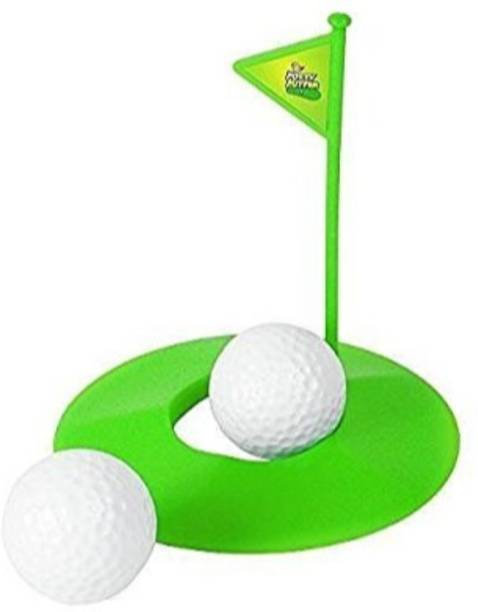 Smartcraft Toilet Golf, Putter Practice in The Bathroom with This Potty Putter