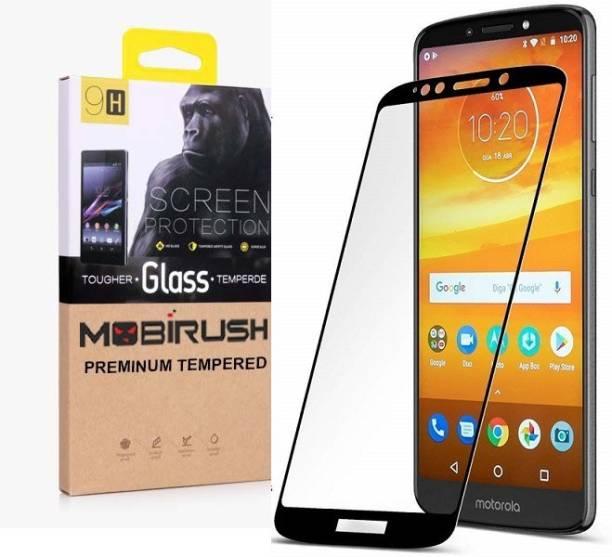 MOBIRUSH Edge To Edge Tempered Glass for Motorola Moto E5 Plus