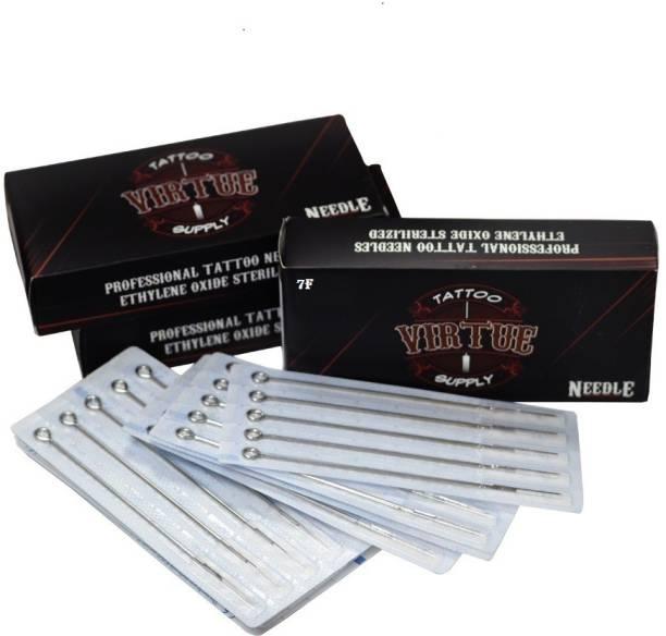 Virtue 1207 F Disposable Flat Tattoo Needles
