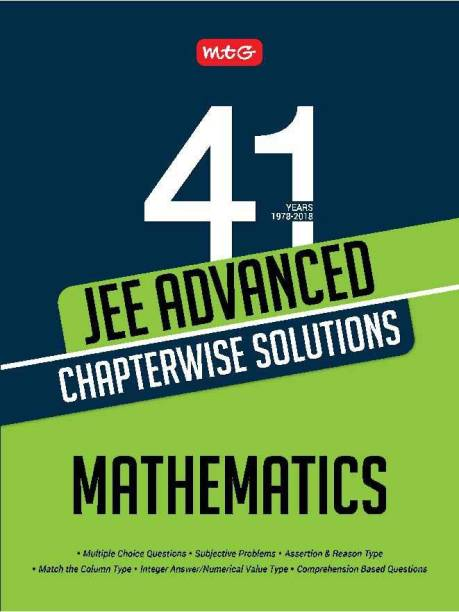 41 Years JEE Advance Chapterwise Solutions - Mathematics