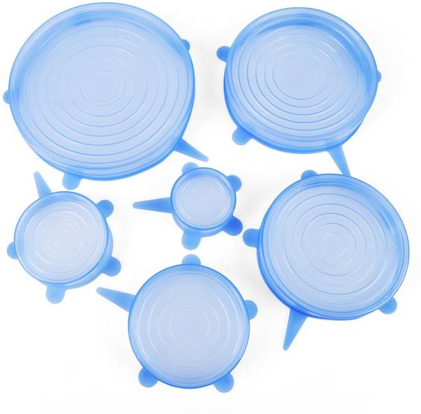 MK Silicone Stretch Lids for Bowl, Can, Jar, Glassware, Food Saver Covers