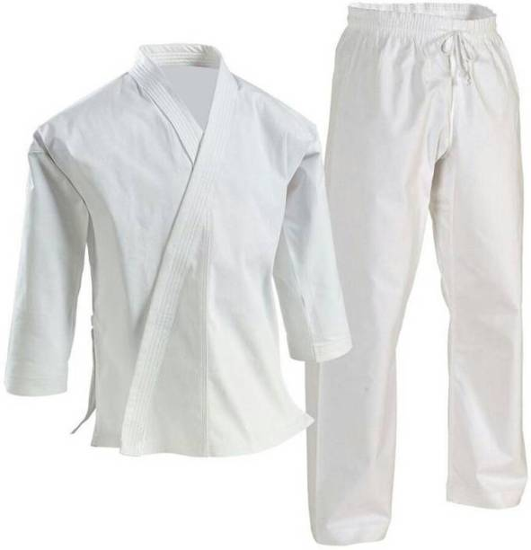 90911b144 GLS Judo Karate Martial Art Size 7 Cotton Uniform (Jacket Pant & Belt) -
