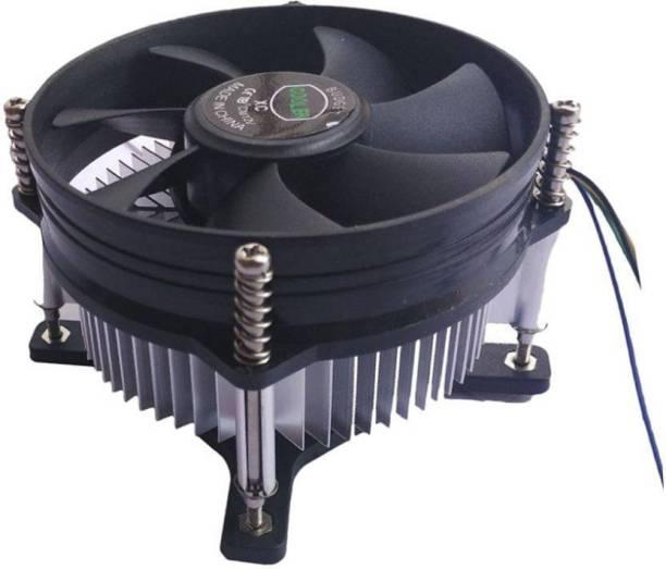 Etake Cpu Fan Cooler And Heat-sink Cooling Fan (Black, For Computer) Cooler