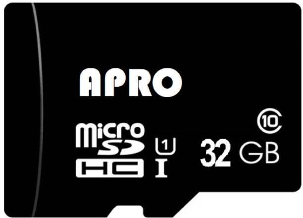 Apro Ultra Xdisk 32 GB MicroSDHC Class 10 20 MB/s  Memory Card