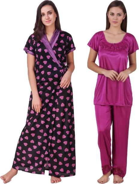Silk Night Dresses Nighties - Buy Silk Night Dresses Nighties Online ... 5d03bf42e