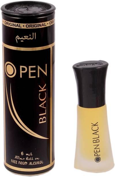 Al Nuaim Open Black Floral Attar