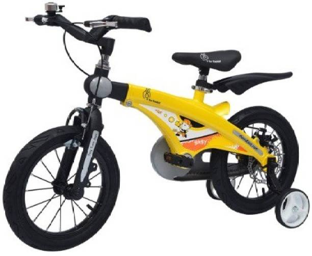 R for Rabbit The Smart Plug and Play Kids Cycle (14 inches/T - For Kids 3-5 Years) Yellow 14 T Road Cycle