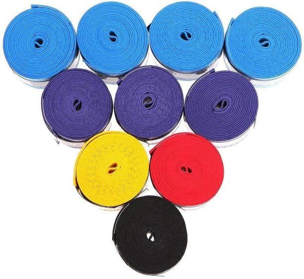 a3650ebbd QUINERGYS ® Multicolor-38 - Super Grap Racquet Overgrip -Tennis, Badminton,  Squash