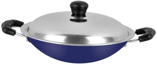 Renberg Blue Orchid Appachatty Pan 22 cm diameter with Lid