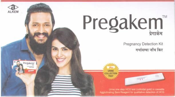 pregakem 1 pregnancy Kit Pregnancy Test Kit