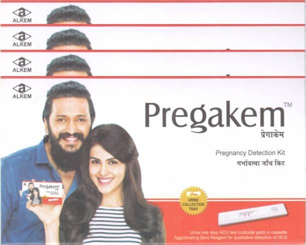 pregakem 4 Pregnancy Kit Pregnancy Test Kit