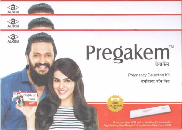 pregakem 3 Pregnancy Kit Pregnancy Test Kit
