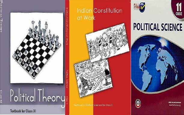 Poltical Science Class 11th Ncert(Poltical Theory & Indian Constitution) With Fullmarks Guide (Set Of 3 Book)