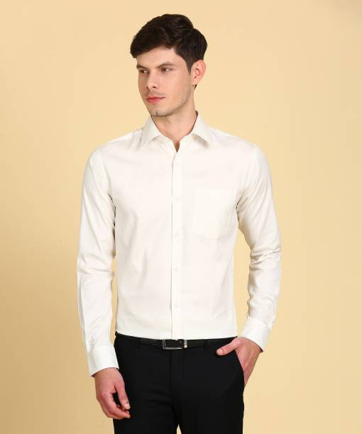 84cf1c2934e White Formal Shirts - Buy White Formal Shirts Online at Best Prices ...