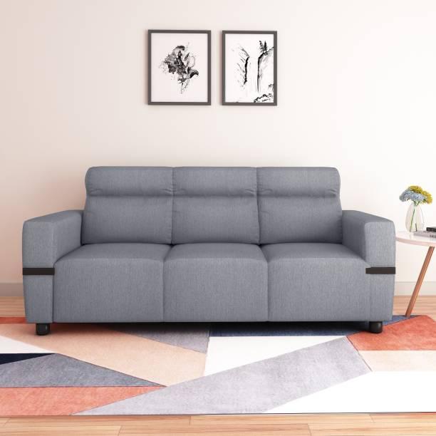 Flipkart Perfect Homes Santorini Fabric 3 Seater  Sofa