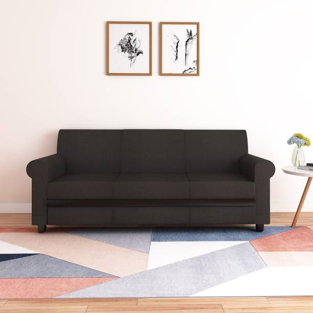 Flipkart Perfect Homes Sintra Fabric 3 Seater  Sofa