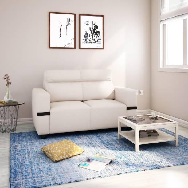 Flipkart Perfect Homes Santorini Fabric 2 Seater  Sofa