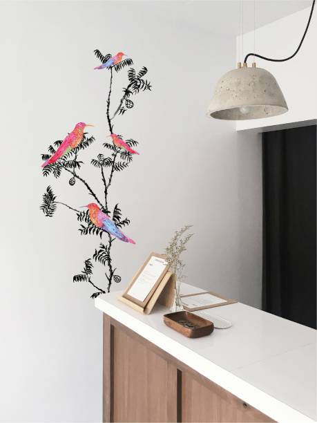 ASIAN PAINTS Extra Large Wall Ons Nature Fly Away Adhesive Type