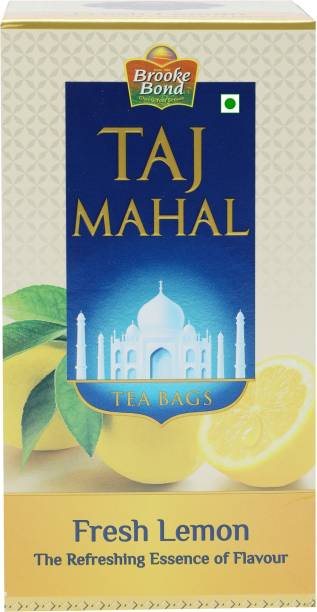 Taj Mahal Fresh Lemon Tea Bags Box