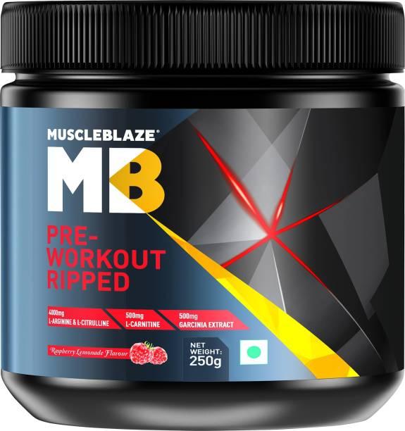 MUSCLEBLAZE Pre-Workout Ripped Nutrition Drink