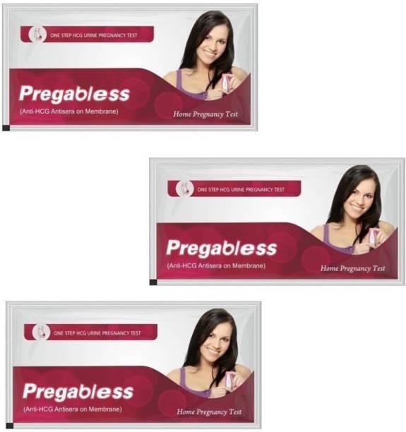 Pregabless Easy Home Use (Pack of 3) Pregnancy Test Kit