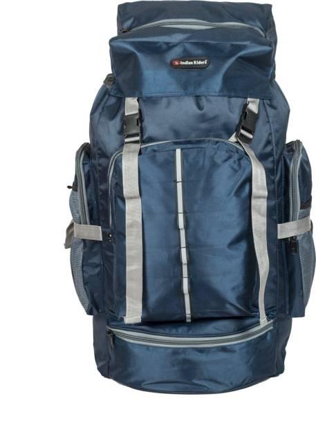 Indian Riders Lightweight Travel Hiking Rucksack Bag Navy Blue- 50 L  Rucksack - 50 L c26b76b886