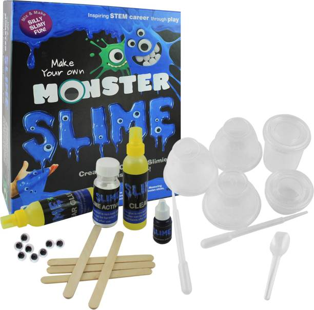 Do it yourself kits art craft toys buy do it yourself kits art ekta monster slime lab toy for 8 years slime lab kit solutioingenieria Image collections