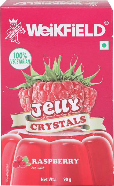 WeiKFiELD Raspberry Flavour Jelly Crystals