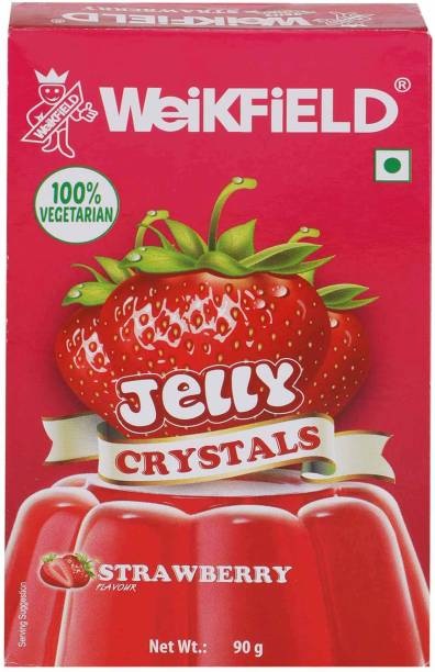 WeiKFiELD Strawberry Flavour Jelly Crystals